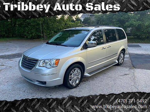 2008 Chrysler Town and Country for sale at Tribbey Auto Sales in Stockbridge GA