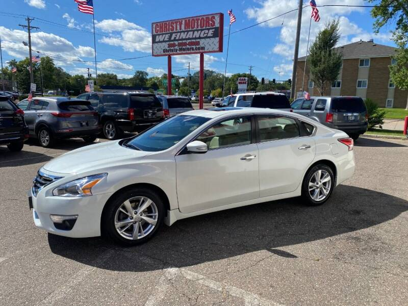 2014 Nissan Altima for sale at Christy Motors in Crystal MN