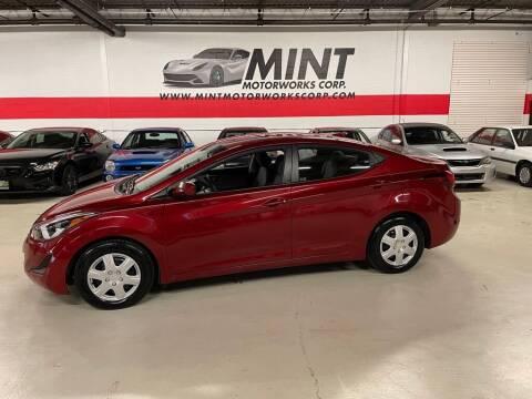 2016 Hyundai Elantra for sale at MINT MOTORWORKS in Addison IL