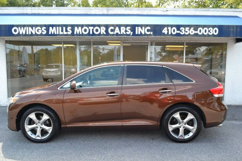 2011 Toyota Venza for sale at Owings Mills Motor Cars in Owings Mills MD