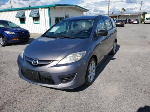 2010 Mazda MAZDA5 for sale at Jamrock Auto Sales of Panama City in Panama City FL