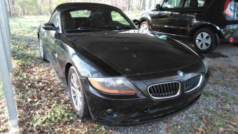 2003 BMW Z4 for sale at Lister Motorsports in Troutman NC