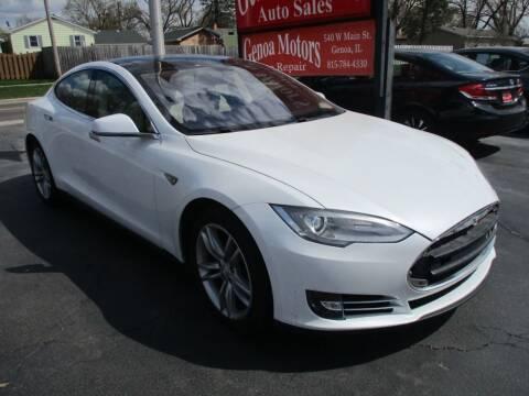 2013 Tesla Model S for sale at GENOA MOTORS INC in Genoa IL
