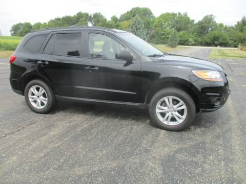 2010 Hyundai Santa Fe for sale at Crossroads Used Cars Inc. in Tremont IL