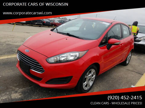 2014 Ford Fiesta for sale at CORPORATE CARS OF WISCONSIN - DAVES AUTO SALES OF SHEBOYGAN in Sheboygan WI