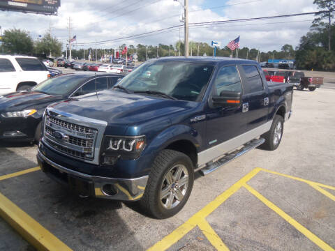 2014 Ford F-150 for sale at ORANGE PARK AUTO in Jacksonville FL