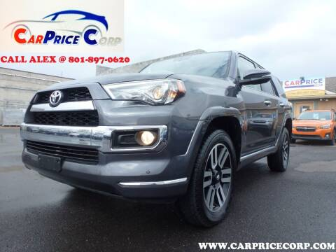 2016 Toyota 4Runner for sale at CarPrice Corp in Murray UT