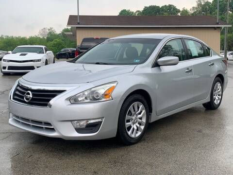 2015 Nissan Altima for sale at Elite Motors in Uniontown PA