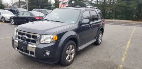 2009 Ford Escape for sale at Central Jersey Auto Trading in Jackson NJ