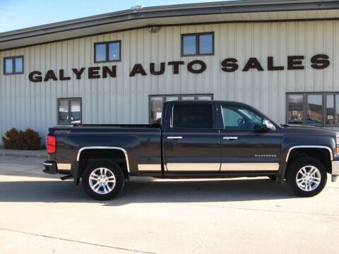2014 Chevrolet Silverado 1500 for sale at Galyen Auto Sales Inc. in Atkinson NE