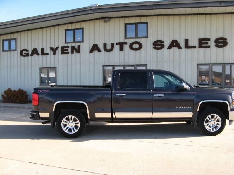 2014 Chevrolet Silverado 1500 for sale at Galyen Auto Sales Inc. in Atkinson NE