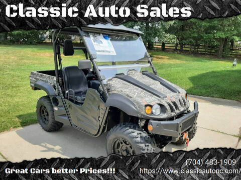 2021 Axis 500 for sale at Classic Auto Sales in Maiden NC