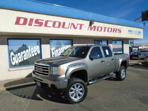 2013 GMC Sierra 1500 for sale at Discount Motors in Pueblo CO