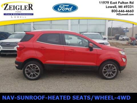 2019 Ford EcoSport for sale at Zeigler Ford of Plainwell- Jeff Bishop in Plainwell MI