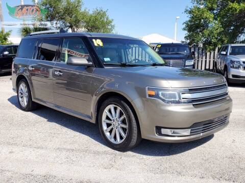 2014 Ford Flex for sale at GATOR'S IMPORT SUPERSTORE in Melbourne FL