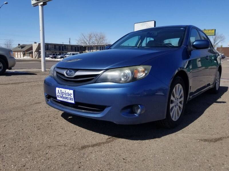 2010 Subaru Impreza for sale at Alpine Motors LLC in Laramie WY
