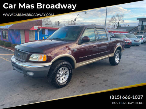 2001 Ford F-150 for sale at Car Mas Broadway in Crest Hill IL