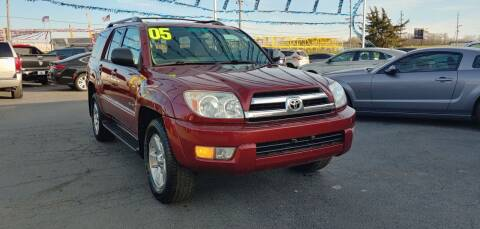 2005 Toyota 4Runner for sale at I-80 Auto Sales in Hazel Crest IL