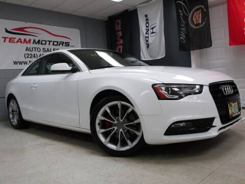 2013 Audi A5 for sale at TEAM MOTORS LLC in East Dundee IL
