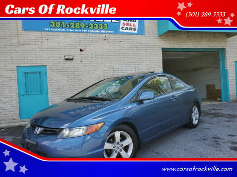 2006 Honda Civic for sale at Cars Of Rockville in Rockville MD