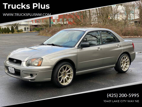 2005 Subaru Impreza for sale at Trucks Plus in Seattle WA