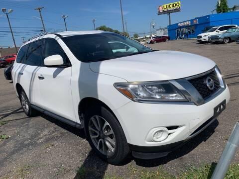 2013 Nissan Pathfinder for sale at M-97 Auto Dealer in Roseville MI