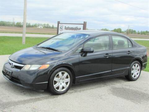 2006 Honda Civic for sale at 42 Automotive in Delaware OH