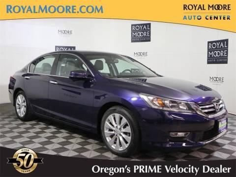 2013 Honda Accord for sale at Royal Moore Custom Finance in Hillsboro OR