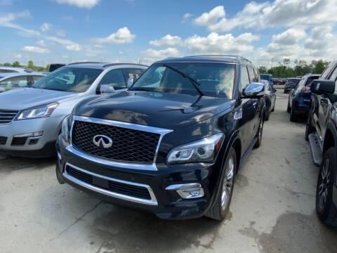 2015 Infiniti QX80 for sale at Elvis Auto Sales LLC in Grand Rapids MI