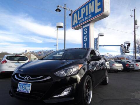 2013 Hyundai Elantra GT for sale at Alpine Auto Sales in Salt Lake City UT