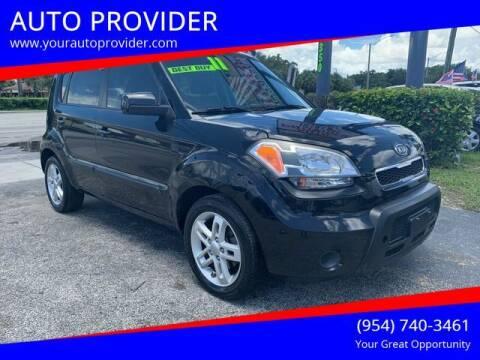 2011 Kia Soul for sale at AUTO PROVIDER in Fort Lauderdale FL