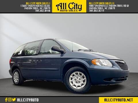 2002 Chrysler Voyager for sale at All City Auto Sales II in Indian Trail NC