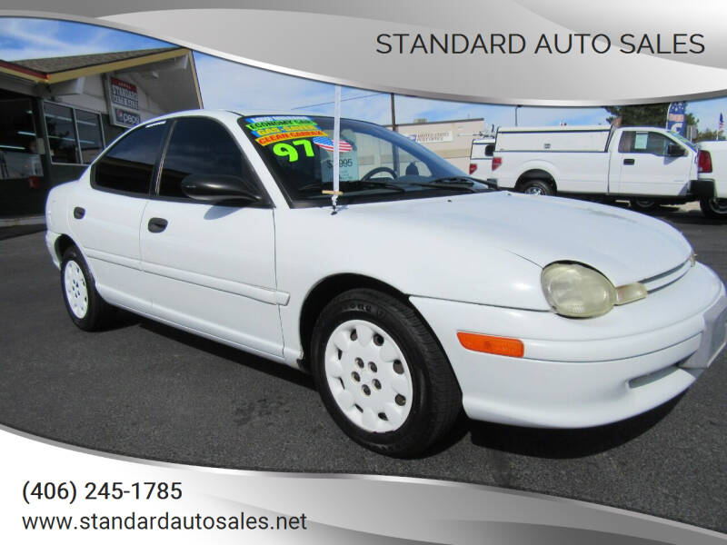1997 Dodge Neon for sale at Standard Auto Sales in Billings MT