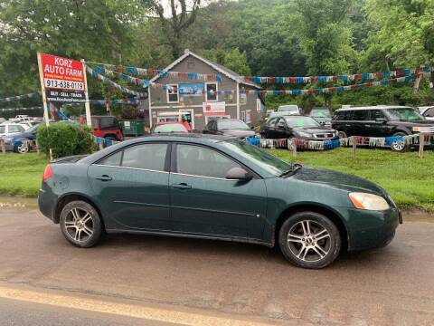 2006 Pontiac G6 for sale at Korz Auto Farm in Kansas City KS