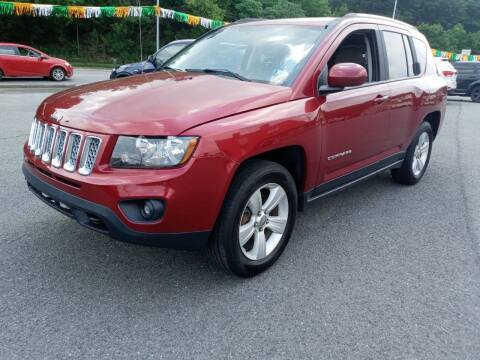 2014 Jeep Compass for sale at Mulligan's Auto Exchange LLC in Paxinos PA