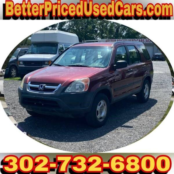2004 Honda CR-V for sale at Better Priced Used Cars in Frankford DE