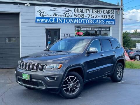 2018 Jeep Grand Cherokee for sale at Clinton MotorCars in Shrewsbury MA