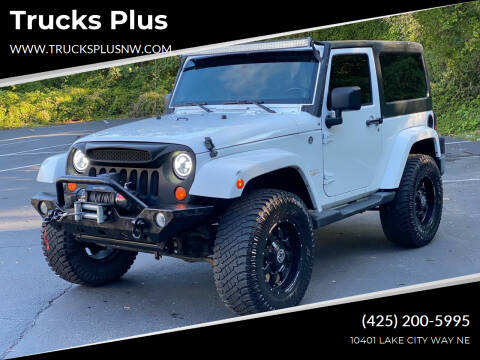 2012 Jeep Wrangler for sale at Trucks Plus in Seattle WA
