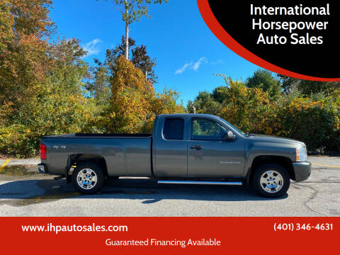 2011 Chevrolet Silverado 1500 for sale at International Horsepower Auto Sales in Warwick RI