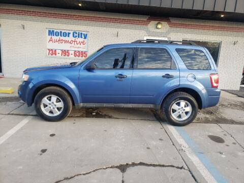 2009 Ford Escape for sale at Motor City Automotive of Michigan in Flat Rock MI