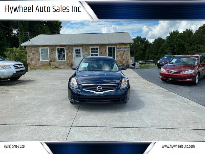 2008 Nissan Altima for sale at Flywheel Auto Sales Inc in Woodstock GA