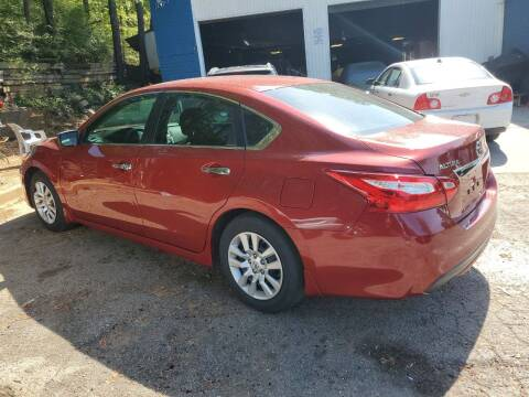2016 Nissan Altima for sale at Moreland Motorsports in Conley GA