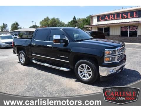 2015 Chevrolet Silverado 1500 for sale at Carlisle Motors in Lubbock TX