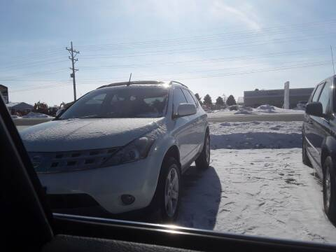 2005 Nissan Murano for sale at BARNES AUTO SALES in Mandan ND