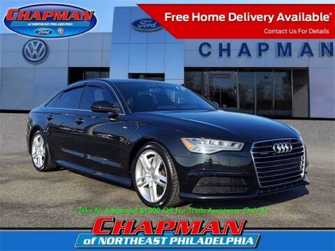 2017 Audi A6 for sale at CHAPMAN FORD NORTHEAST PHILADELPHIA in Philadelphia PA