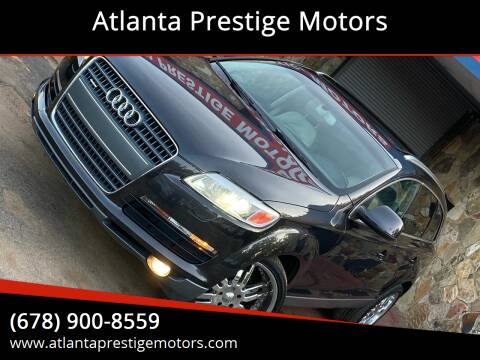 2007 Audi Q7 for sale at Atlanta Prestige Motors in Decatur GA