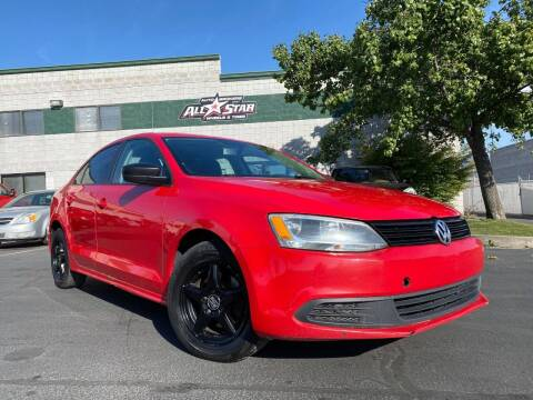2013 Volkswagen Jetta for sale at All-Star Auto Brokers in Layton UT