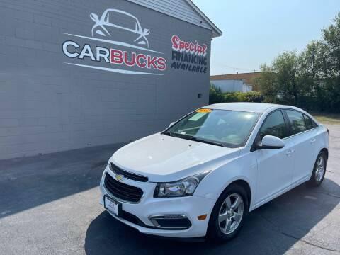 2015 Chevrolet Cruze for sale at Carbucks in Hamilton OH