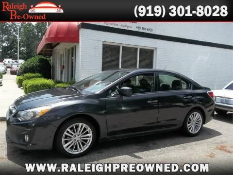 2014 Subaru Impreza for sale at Raleigh Pre-Owned in Raleigh NC