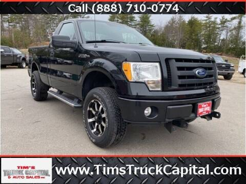 2010 Ford F-150 for sale at TTC AUTO OUTLET/TIM'S TRUCK CAPITAL & AUTO SALES INC ANNEX in Epsom NH